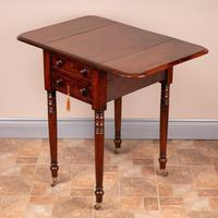 19th Century Mahogany Pembroke Work Table (12 of 13)