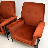 Pair of Italian Vintage Armchairs (5 of 10)
