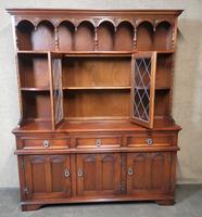 Wood Bros Old Charm Oak Dresser Tudor Brown (5 of 11)