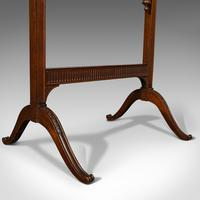 Antique Needlepoint Stretcher, English, Mahogany, Tapestry Frame, Victorian (6 of 12)