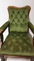 William IV Mahogany Library Chair (5 of 7)