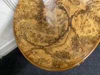 Queen Anne Burr Walnut Kidney Dressing Table (9 of 17)