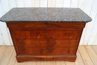 Louis Philippe  Walnut Commode (4 of 7)