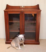 Mahogany Display Bookcase (6 of 9)
