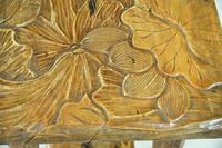 Liberty Carved Japanese Side Table (8 of 12)