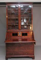 18th Century Mahogany Bureau Bookcase (4 of 7)