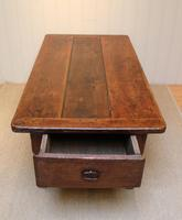 Substantial Early 19th Century French Oak Low Table (6 of 9)