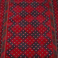 Long Antique Meshwari Runner, Persian, Wool, Kilim, Hallway, Carpet c.1900 (10 of 12)