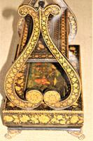 A fine Regency pen work table book stand in the Chinoiserie Style (7 of 8)