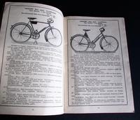 1931 Monark Motorcycle & Bicycle Rare Catalogue / Brochure Sweden (4 of 7)