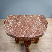 Pair of Marble Top Console Tables (2 of 10)