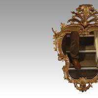 Rare Antique Gilt Florentine Mirror (6 of 6)