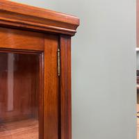 Pair of Victorian Walnut Antique Bookcases (6 of 7)