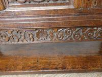 19th Century Carved Oak Cupboard / Dresser (15 of 16)