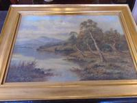 Oil on The Conway by Sidney Yates Johnson (2 of 6)