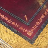Victorian Oak Maple & co Pedestal Desk (3 of 11)