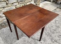 Antique Georgian Mahogany Fold Over Tea Table (19 of 27)