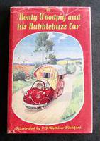 1958 1st Edition Monty Woodpig and His Bubblebuzz Car by 'bb'.  Illustrated by D J Watkins-Pitchford, Original Dust Jacket