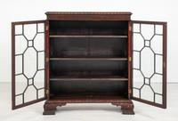 Mahogany Chippendale style 2 door display cabinet (8 of 11)