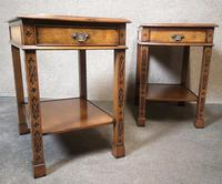 Pair of Burr Walnut End Tables Iain James Fine Furniture (3 of 9)
