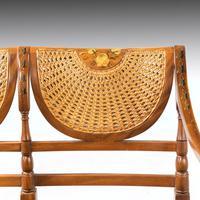 Elegant Early 20th Century Satin Mahogany Salon Suite (7 of 8)