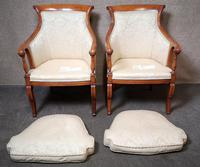 Pair of French Empire Style Armchairs (5 of 13)