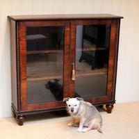 Victorian Rosewood Glazed Bookcase (5 of 10)