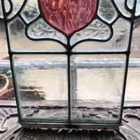 Antique Stained Glass Panel (12 of 12)