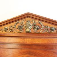French Empire Style Mahogany Antique Bed (6 of 7)