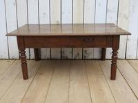Antique French Ash Coffee Table (2 of 8)