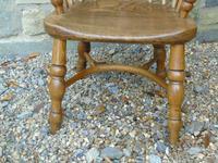 Child's Antique Oak Windsor Chair (7 of 9)