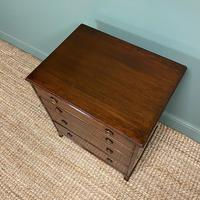 Edwardian Mahogany Small Antique Chest of Drawers (4 of 6)