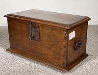 Small Spanish Walnut Chest From The 17th Century, (6 of 8)
