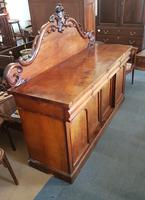 Victorian 4 Drawer Sideboard (2 of 5)
