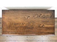 Early 20th Century Antique Oak Side Table (4 of 10)