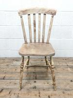 Set of Four Antique Farmhouse Dining Chairs (4 of 8)