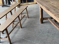 Normandy Oak Farmhouse Table & Bench Set (10 of 19)