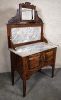 Edwardian Simulated Walnut Bedroom Suite (9 of 21)