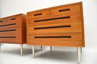 1960's Pair of Vintage Mahogany Chests by Edward Wormley for Dunbar (8 of 12)