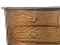 Edwardian Inlaid Mahogany Serpentine Chest of Drawers by Waring (M-1489) (5 of 16)