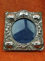 Antique Sterling Silver Reynolds Angels  Picture Frame with Bevelled Glass C1900 (11 of 12)