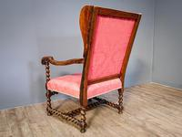 Charles II Period Winged Armchair (6 of 8)
