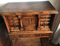 Victorian Mahogany Tabernacle Cabinet (6 of 6)