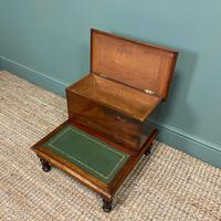 Stunning Victorian Mahogany Antique Library Steps (3 of 4)