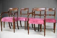 Set of 6 Regency Mahogany Dining Chairs (7 of 13)