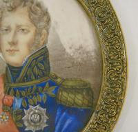 Outstanding Portrait Miniature. Marshall of the Empire. Michel Ney (5 of 6)