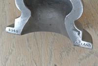 Brass & Cast Iron Door Porter Brass Door Stop Antique Pearson Page c.1920 (4 of 9)