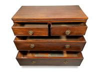 English George III Mahogany Chest of Drawers (4 of 6)