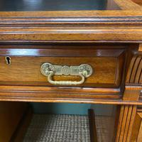 High Quality Maple & Co Antique Victorian Pedestal Desk (6 of 11)