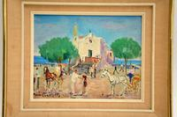Vintage Italian Oil Painting by Mario Cortiello (3 of 6)